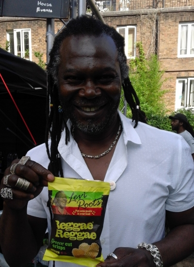 Levi Roots goes into Crisps