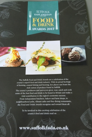 Suffolk Food and Drink Awards 2017