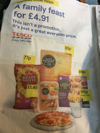 Be ashamed Tesco